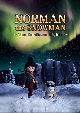 NORMAN THE SNOWMAN -The Northern Lights-